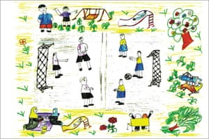 Gaza children drawings: Oxfam exhibition highlights hopes and fears of children in Gaza