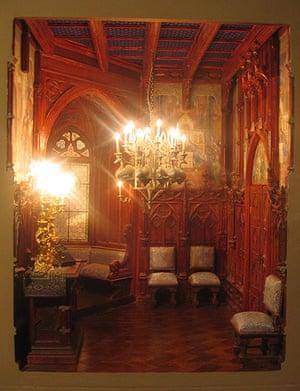 Dolls' houses: Neuschwanstein bedroom