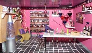 Dolls' houses: Sarah Whitlam castle bar