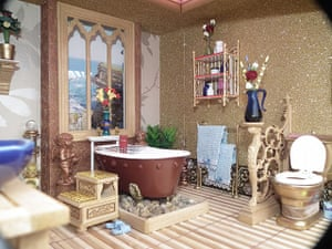 Dolls' houses: Sarah Whitlam bathroom