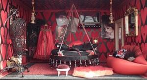 Dolls' houses: Sarah Whitlam bedroom