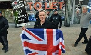 BNP protest Liverpool