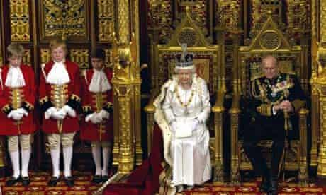 Queen gives Queen's speech