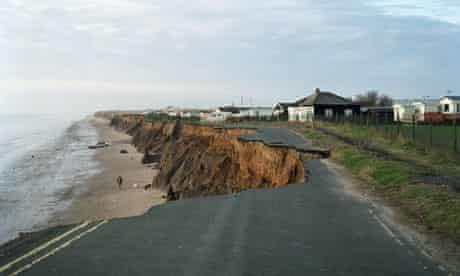 Big Picture: Lost Villages, cliff erosion