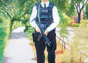 Readers' art: Britain: Armed police