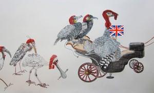 Readers' art: Britain: Make way for Jack...