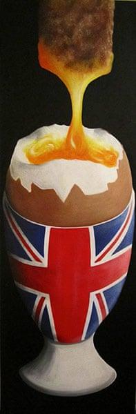 Readers' art: Britain: Tasty Soldier