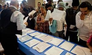 Unemployment career fair