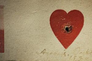 Pilgrimage: Annie Oakley's heart target