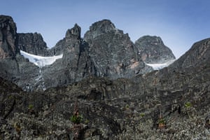 Rwenzori mountains: on the border between Uganda and the Democratic Republic of the Congo