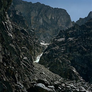 Rwenzori mountains: on the border between Uganda and the Democratic Republic of the Congo