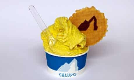 Coronation chicken ice-cream from Gelupo