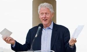 Bill Clinton Stumps for Tom Barrett