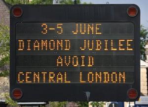 Diamond Jubilee : A Diamond Jubilee Traffic Sign