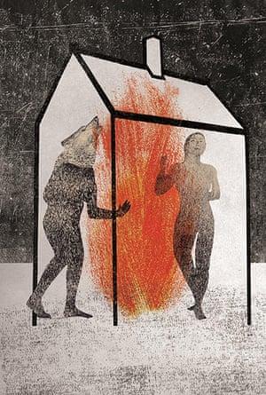 Book Illo Comp 2: The Company of Wolves by Iro Tsavala