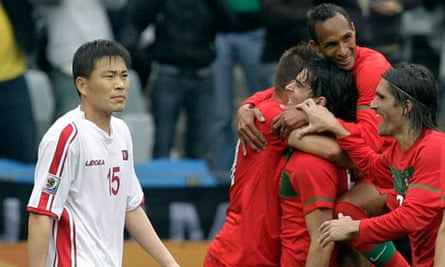 North Korea's 7-0 defeat to Portugal