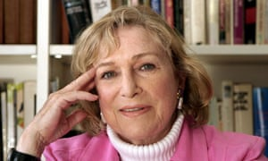 Shirley Conran, author of Lace.