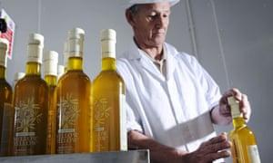 Bottling Mellow Yellow rapeseed oil