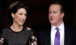 Britain's Prime Minister David Cameron a