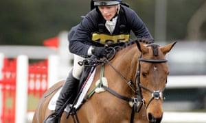 Zara Phillips Competes In The Tweseldown Horse Trials