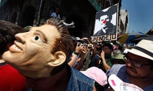 Mexico presidential election protest