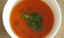 Lindsey Bareham recipe tomato soup