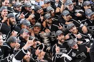24 hours in pictures: The Los Angeles Kings raises the Stanley Cup