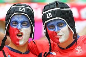 Greece v Czech: Czech fans
