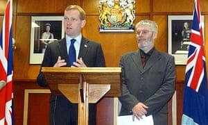 Jeremy Browne visits Falkland Islands