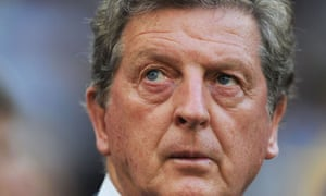 England football manager Roy Hodgson at Euro 2012