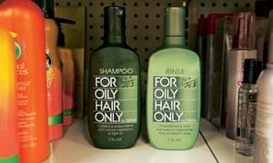 Oily hair shampoo