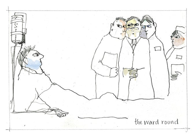 Drawings Of Doctors A Patients Eye View