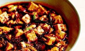 Fuchsia Dunlop's vegetarian version of pock-marked old woman's tofu