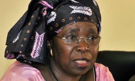 South Africa's home affairs minister Nkosazana Dlamini-Zuma