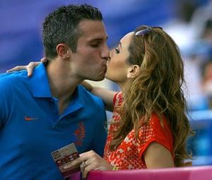 sport: Euro 2012 Holland V Germany