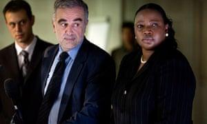 Luis Moreno Ocampo and Fatou Bensouda of ICC