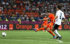 sporty9: Netherlands v Germany - Group B: UEFA EURO 2012
