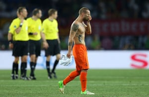 football match: Netherlands v Germany - Group B: UEFA EURO 2012