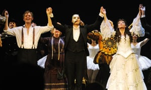 phantom of the opera star attacks fan on twitter stage the guardian. Black Bedroom Furniture Sets. Home Design Ideas