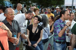 Greece: 13-14 June: Well-to-do middle class Greeks come out to support Recreate Greece