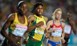 Semenya women's 800 metres semi-finals at the IAAF World Championships in Daegu