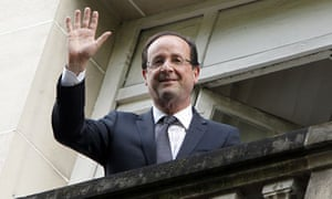 François Hollande, the French president