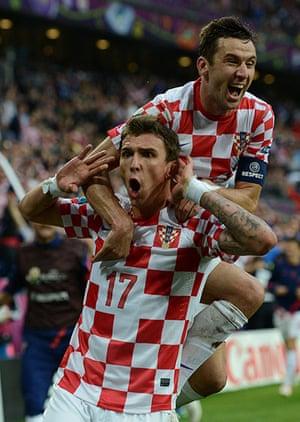 footy4: Croatian forward Mario Mandzukic