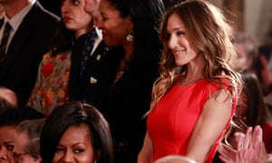 Michelle Obama, Sarah Jessica Parker