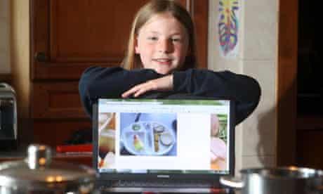 School Dinner Blogger - 9 yr old Martha Payne from Argyll