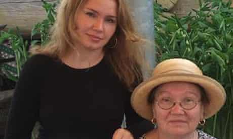 Murder victims Svetlana Zolotovska and Antonina Belska