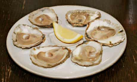 Native oysters at The Company Shed