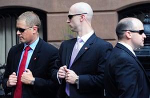 Obama fundriser NYC: Secret service at Sarah Jessica Parker's home