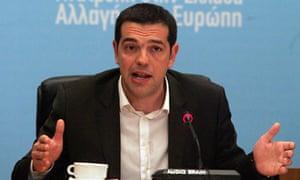 Alexis Tsipras of Syriza