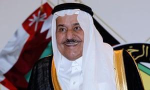 Saudi Arabia's Crown Prince Nayef bin Abdul-Aziz al Saud